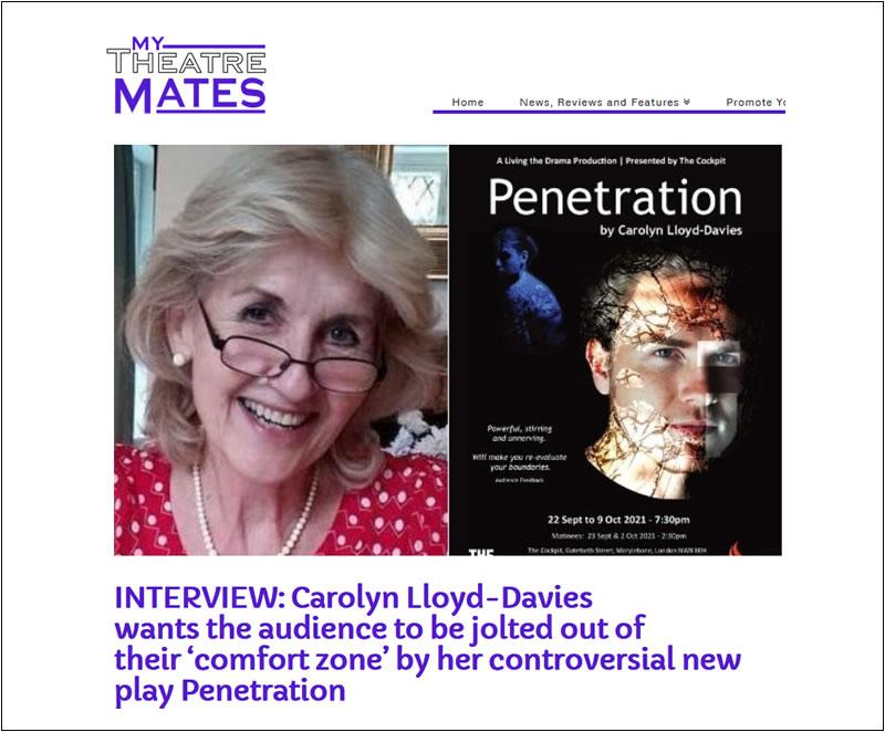 Interview with Carolyn Lloyd-Davies